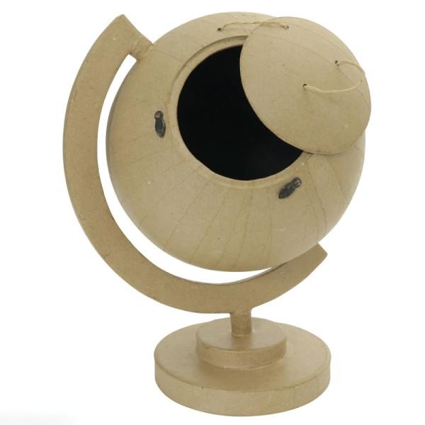 Urne globe en papier mâché - 30 cm - Photo n°2