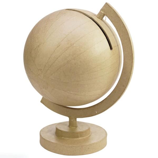 Urne globe en papier mâché - 30 cm - Photo n°1
