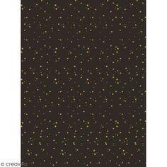 Décopatch effet foil - étoiles 778 - 1 feuille