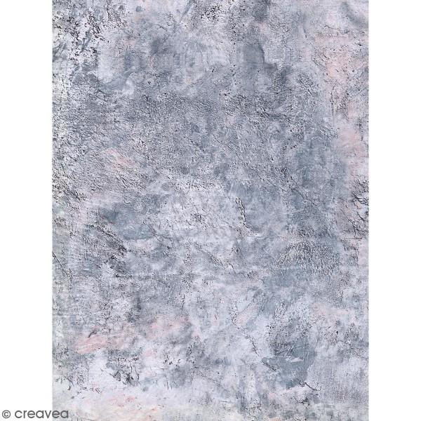 Décopatch motif Béton 791 - 1 feuille - Photo n°1