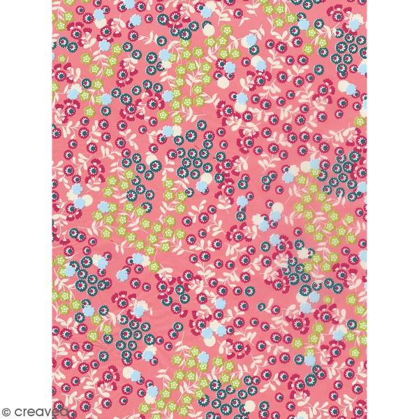 Décopatch Petites fleurs printanières 795 - 1 feuille - Photo n°1