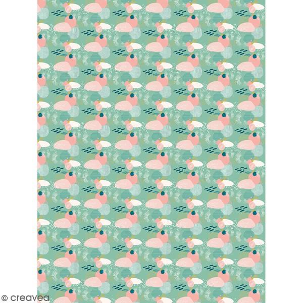 Décopatch effet foil - Motifs géométriques 799 - 1 feuille - Photo n°1