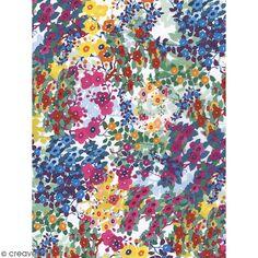 Décopatch Fleurs 800 - 1 feuille