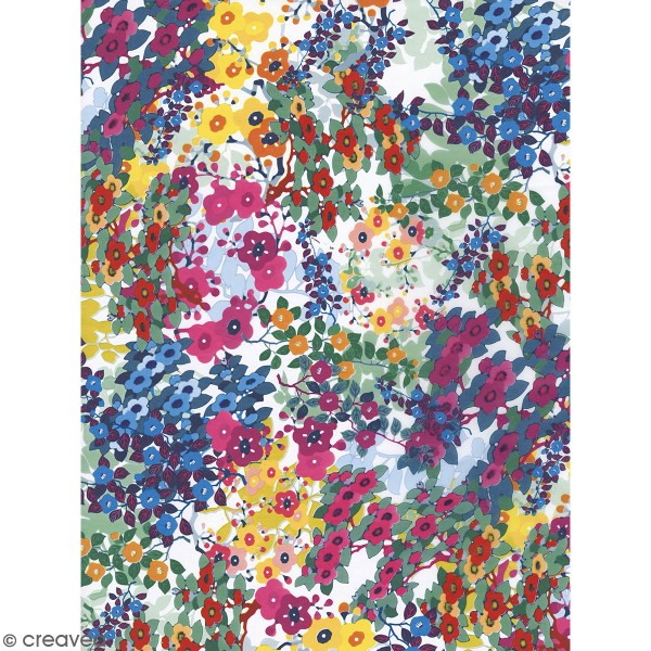 Décopatch Fleurs 800 - 1 feuille - Photo n°1