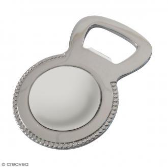 Décapsuleur métallique aimanté DTM - Acier - 6,5 x 4,2 cm