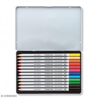 Crayons de couleurs aquarelle Staedtler - 12 pcs