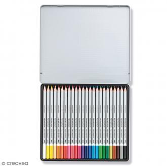 Crayons de couleurs aquarelles Staedtler - 24 pcs