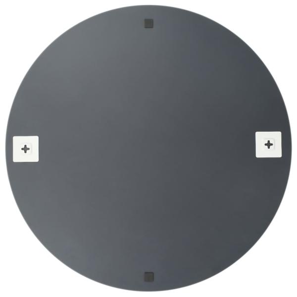 vidaxl miroir mural 50 cm rond verre miroir adh sif creavea. Black Bedroom Furniture Sets. Home Design Ideas