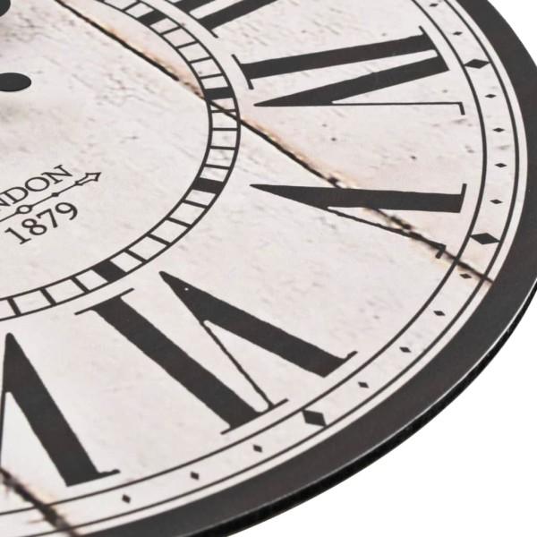 Vidaxl Horloge Murale Vintage De Cuisine Londres 30 Cm Horloge A