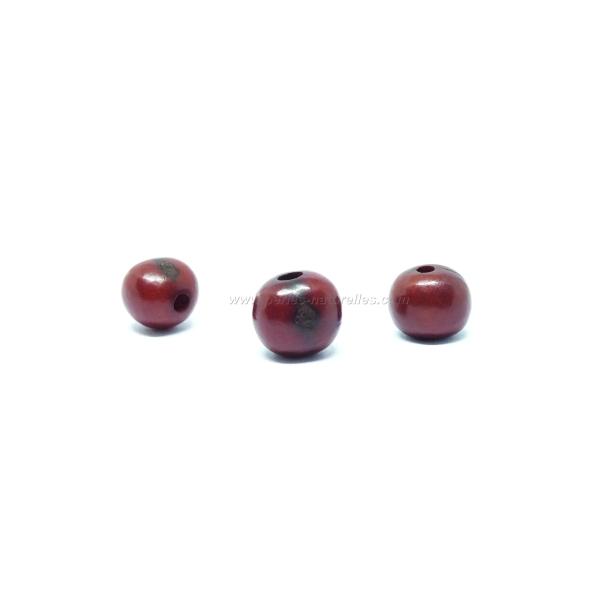 100 Perles Açai - Marron - Photo n°1