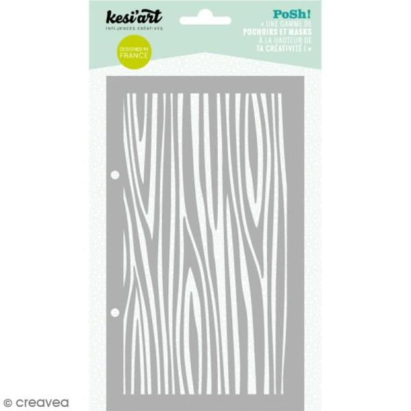 Pochoir Posh - Bois - 11,5 x 19,5 cm - 1 planche - Photo n°1