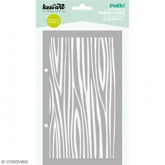 Pochoir Posh - Bois - 11,5 x 19,5 cm - 1 planche