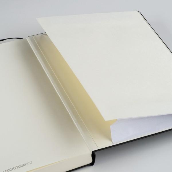 Carnet A5 Médium 15x21cm Dotted Pointillé, Couverture Rigide, 249 Pages Numérotées, Rouge - Photo n°4