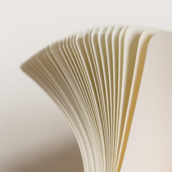 Carnet A5 Médium 15x21cm Dotted Pointillé, Couverture Rigide, 249 Pages Numérotées, Rouge - Photo n°5