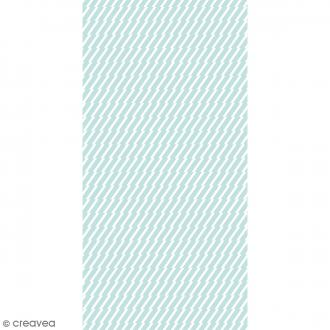 Toile imprimée - Lovely Canvas - Éclairs - 30 x 60 cm