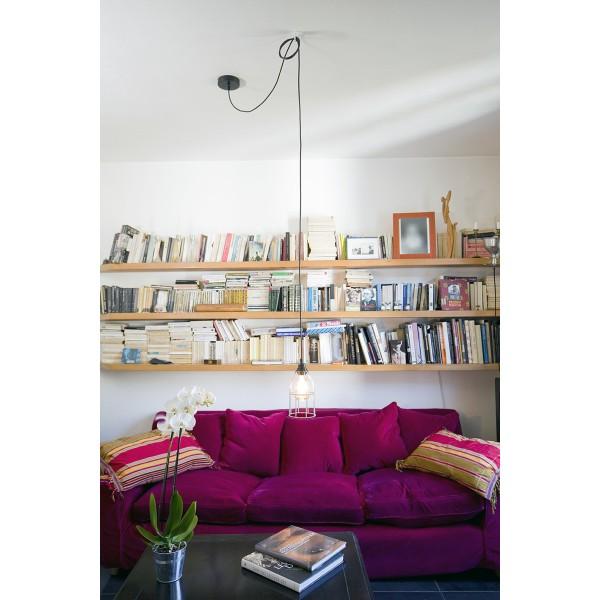 Suspension fil électrique Hang 1 Cuivre - Photo n°4