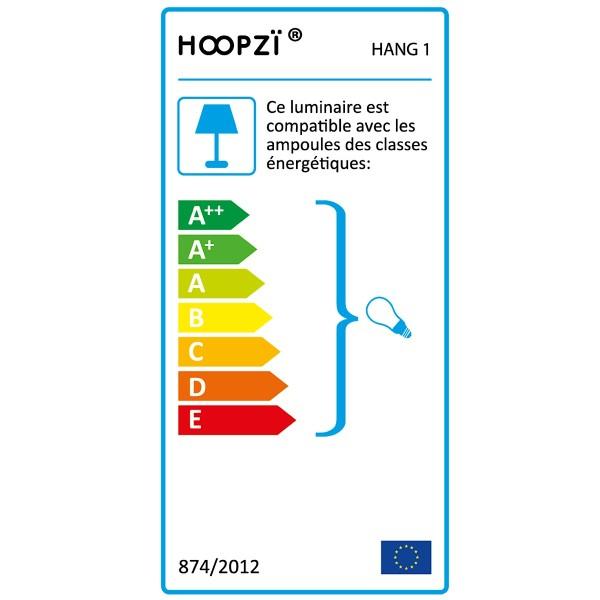 Suspension fil électrique Hang 1 Cuivre - Photo n°5