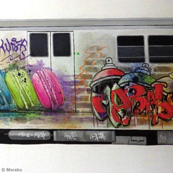 Crayon cire aquarelle - Art Crayon - Essential - 4 pcs - Photo n°6