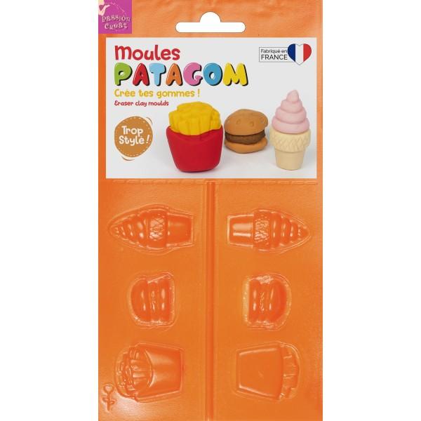 Moule Patagom Fast-Food Créez Vos Propres Gommes - Photo n°1