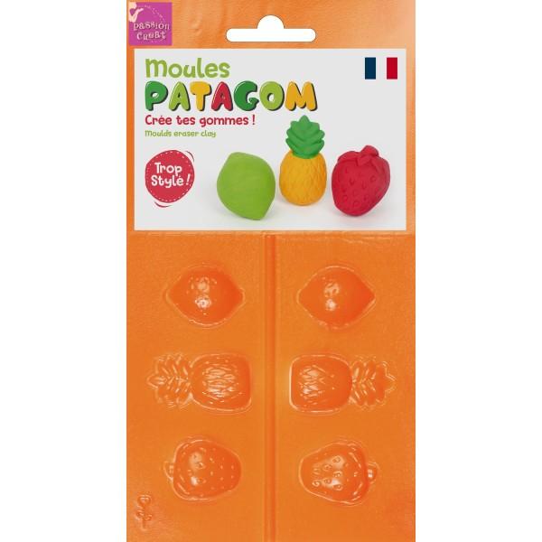 Moule Patagom Fruit Créez Vos Propres Gommes - Photo n°1