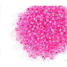 Verre-boule-precosa-rocaille 2mm violet opaque cire 20g