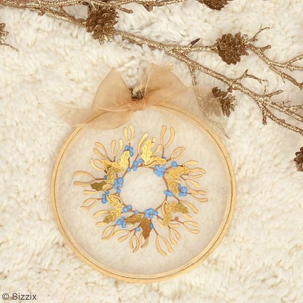 Matrice Sizzix Thinlits - Feuilles d'hiver - 5 pcs - Photo n°5