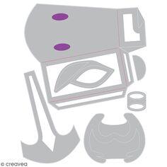 Matrice Sizzix Thinlits - Sac renne - 6 pcs