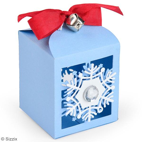 Matrice Sizzix Thinlits - Boite cadeau flocon - 4 pcs - Photo n°2