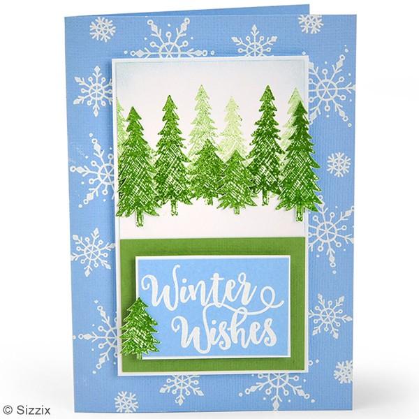 Tampons transparents - Phrases de Noël - 18 pcs - Photo n°2