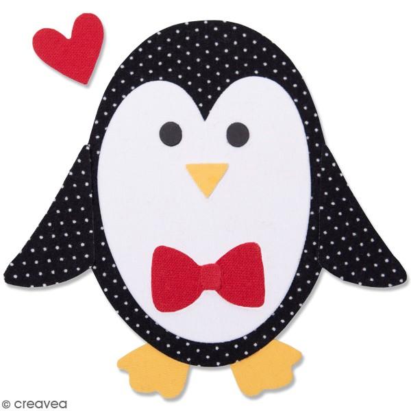 Matrice Sizzix Bigz - Pingouin #2 - 9 pcs - Photo n°1