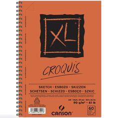 Carnet A5 Canson XL - Sketch - 60 feuilles