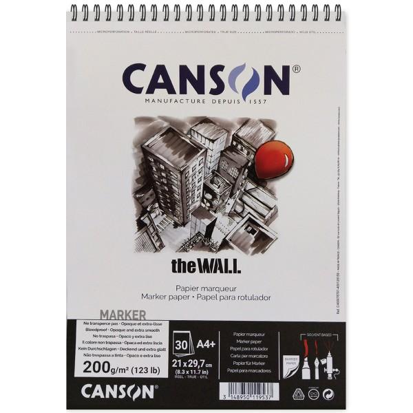 Bloc A4 Canson The wall - Papier épais - 30 feuilles - Photo n°1
