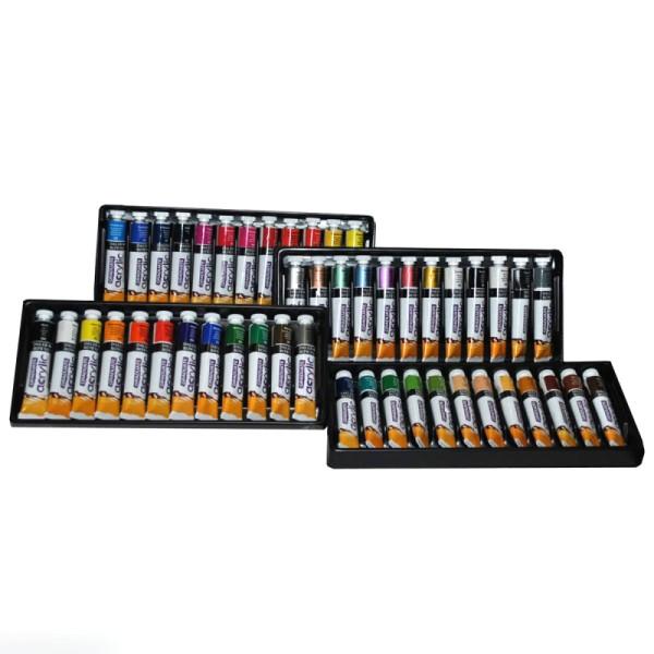 Coffret Peinture acrylique Daler Rowney - 48 x 22 ml - Photo n°1