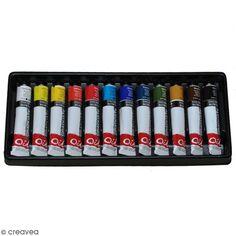 Coffret Peinture à l'huile - 12 x 22 ml