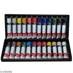 Coffret Peinture à l'huile - 24 x 22 ml