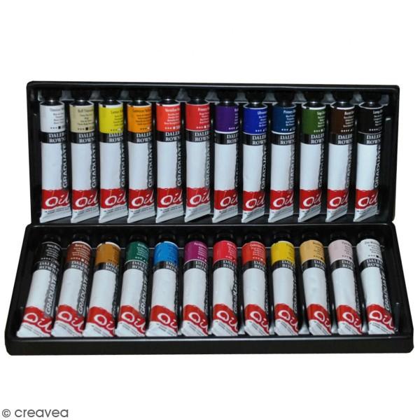 Coffret Peinture à l'huile - 24 x 22 ml - Photo n°1