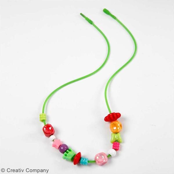 Seau de perles multicolores - 8100 pcs - Photo n°3