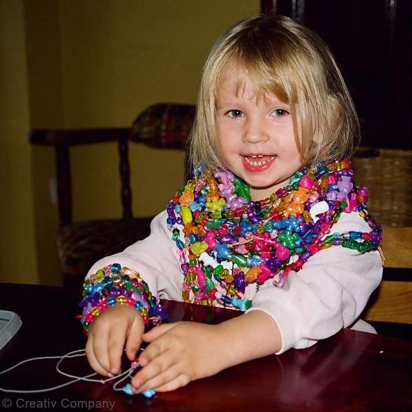 Seau de perles multicolores - 8100 pcs - Photo n°4