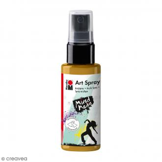 Peinture acrylique Spray - Mixed Media - Doré - 50 ml