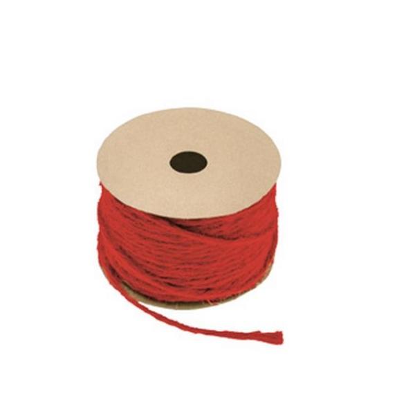 20 Mètres de corde rouge D1,5mm - Photo n°1