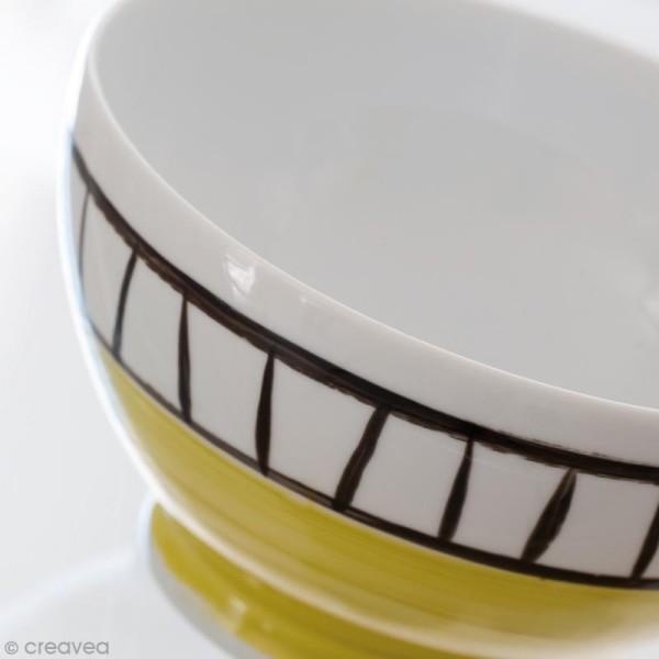 Peinture porcelaine P150 effet brillant - 45 ml - Photo n°4