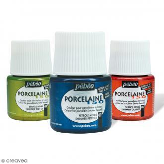 Peinture porcelaine P150 effet moiré - 45 ml