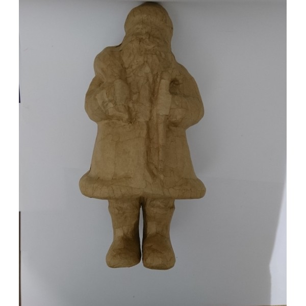 Père Noël en papier mâché - Photo n°2