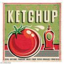 Serviette en papier - Vintage Tomato ketchup - Photo n°1