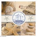 Serviette en papier - Mer sable