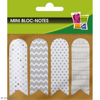 Notes adhésives marque page - Imprimés - 80 pcs