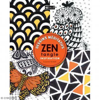 Livre dessin méditatif Zentangle - Inspirations - A4