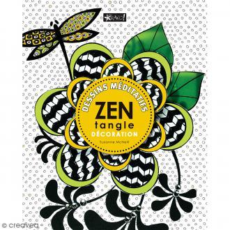 Livre dessin méditatif Zentangle - Décorations - A4