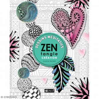 Livre dessin méditatif Zentangle - Créations - A4