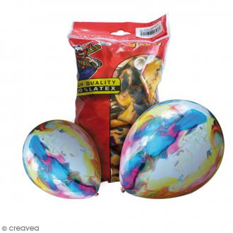 Ballon de baudruche Marbre - 50 pcs